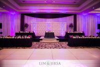 St Regis Head Table Wedding Reception