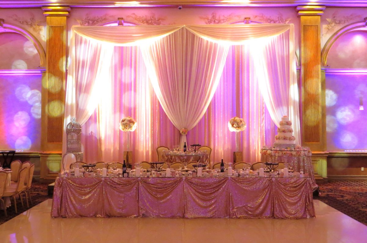 Weddin Reception Renaissance banquet hall 2