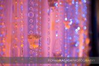 Wedding Reception crystal background