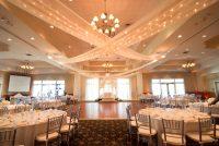 Wedding reception country club wedding white 3