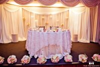 Wedding reception grand wedding blush and cream 3