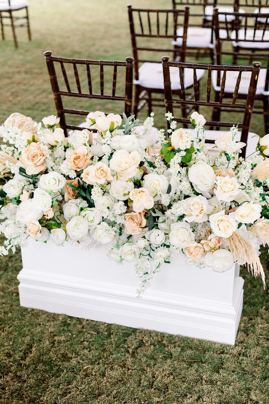 Arroyo Trabuco Golf Club wedding flowers